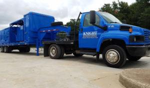 Knight Restoration truck